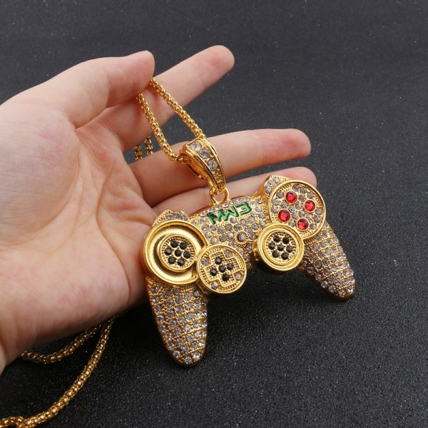Hip-Hop-Iced-Out-Game-Controller-Handle-Pendant-Necklace-for-Women-Men-Gold-CZ-Crystal-Rhinestone-1.jpg