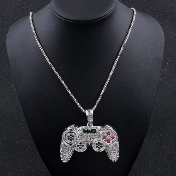 Hip-Hop-Iced-Out-Game-Controller-Handle-Pendant-Necklace-for-Women-Men-Gold-CZ-Crystal-Rhinestone-2.jpg
