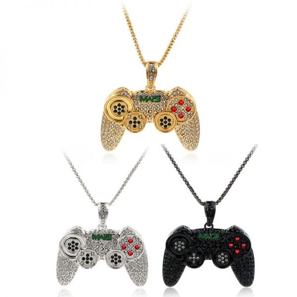 Hip-Hop-Iced-Out-Game-Controller-Handle-Pendant-Necklace-for-Women-Men-Gold-CZ-Crystal-Rhinestone-3.jpg