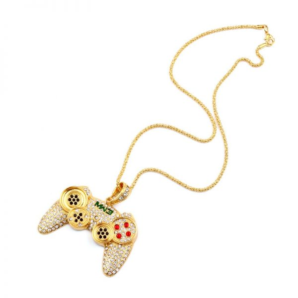 Hip-Hop-Iced-Out-Game-Controller-Handle-Pendant-Necklace-for-Women-Men-Gold-CZ-Crystal-Rhinestone-4.jpg