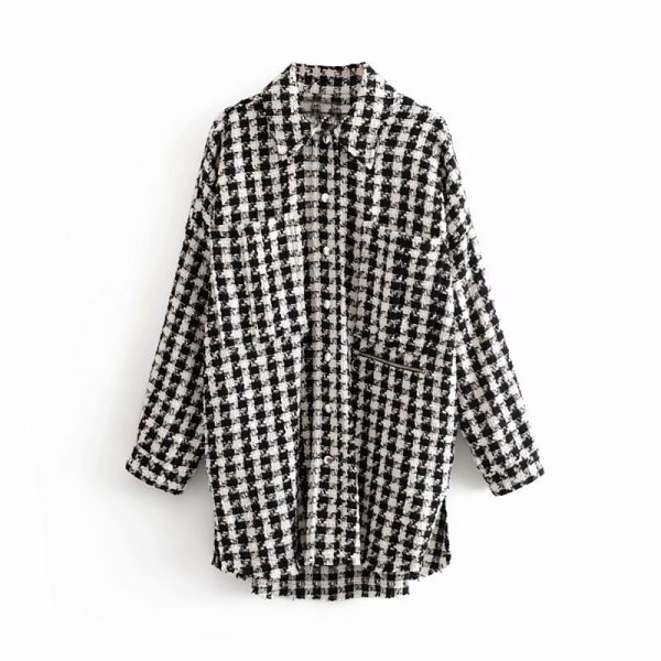 Western-Style-2019-Autumn-New-Style-Fold-down-Collar-Plaid-Tweed-Jacket-Middle-Long-Coat-Women.jpg